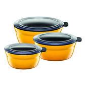 Silit - Fresh Bowls - zestaw 3 mis - średnica: 12, 14 i 16 cm