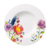 Villeroy & Boch - Anmut Flowers - talerz głęboki - średnica: 24 cm