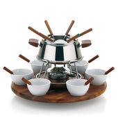 Kela - Armata - zestaw do fondue dla 6 osób - pojemność: 1,0 l