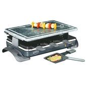 Küchenprofi - Hot Stone - raclette - grill stołowy - wymiary: 47 x 13,5 x 24,5 cm