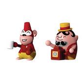 A di Alessi - zestaw 2 figurek - Jimmy Melody i Monkey Money - wysokość: 5 cm