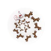 A di Alessi - Christmas Spiral - talerz na ciasto - średnica: 32 cm