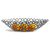 Philippi - Crescent - koszyk na owoce - długość: 49 cm
