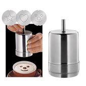 Cilio - Choco-latte - dekorator do kawy - 3 wzory w zestawie