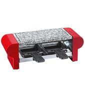 Küchenprofi - Hot Stone - raclette - grill stołowy - 2 patelnie