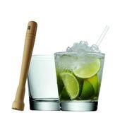 WMF - Clever & More - zestaw do drinków - 2 szklanki, tłuczek, słomki
