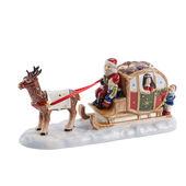 Villeroy & Boch - Fairytale Park - świecznik - sanie św. Mikołaja - wymiary: 23 x 8 x 10,5 cm