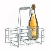 Kela - stojak na 6 butelek - wymiary: 31 x 21cm