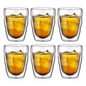 Bodum - Pilatus - zestaw 6 szklanek - pojemność: 0,25 l