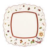 Villeroy & Boch - Toy's Delight - kwadratowy talerz płaski - wymiary: 28,5 x 28,5 cm