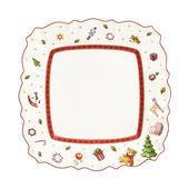 Villeroy & Boch - Toy's Delight - kwadratowy talerz sałatkowy - wymiary: 22 x 22 cm