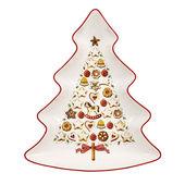 Villeroy & Boch - Winter Bakery Delight - miska choinka - długość: 26,5 cm