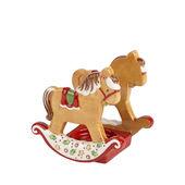 Villeroy & Boch - Winter Bakery Decoration - świecznik koń na biegunach - wymiary: 8 x 6,5 x 8 cm