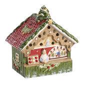 Villeroy & Boch - Nostalgic Christmas Market - lampion - stoisko z ozdobami - wymiary: 15,5 x 9 x 16 cm
