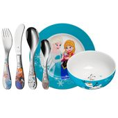 WMF - Frozen - zestaw naczyń i sztućców dla dzieci - 6 elementów