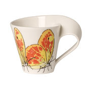 Villeroy & Boch - New Wave Caffe Orange washed sulphur - filiżanka do espresso - pojemność: 0,08 l