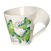 Villeroy & Boch - New Wave Caffe Deep green hairstreak - kubek - pojemność: 0,25 l