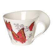 Villeroy & Boch - New Wave Caffe Noble leafwing - filiżanka do białej kawy - pojemność: 0,4 l