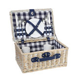 Cilio - Arolo - kosz piknikowy z wyposażeniem dla 2 osób - wymiary: 41 x 31 x 18 cm