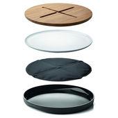 Menu - New Norm - deska do krojenia i do serwowania - średnica: 35 cm