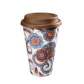 Zassenhaus - Eco Line - kubek na kawę z bioplastiku - średnica: 10 cm, wysokość: 14,5 cm