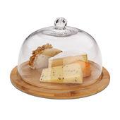 Kela - Katana - deska do sera z pokrywą - średnica: 24 cm