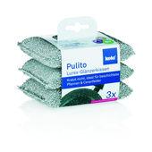 Kela - Pulito - 3 gąbki do mycia naczyń
