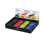 Zassenhaus - CeraPlus - ceramiczne noże do warzyw i owoców - długość ostrza: 8 cm