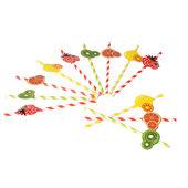Villeroy & Boch - Garden Party 2017 - zestaw słomek do napojów - 12 sztuk