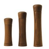 Legnoart - Gusto - młynki do pieprzu lub soli - średnica: 5,5 cm