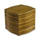 Legnoart - My Coffee - pojemnik na kapsułki do ekspresu - wymiary: 18,5 x 18,5 x 18 cm