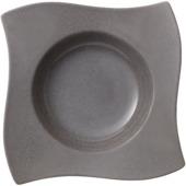 Villeroy & Boch - New Wave Stone - talerz na makaron - wymiary: 28 x 28 cm