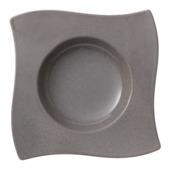 Villeroy & Boch - New Wave Stone - talerz głęboki - wymiary: 24 x 24 cm