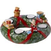 Villeroy & Boch - Christmas Toys Memory - wieniec adwentowy - średnica: 23 cm