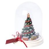 Villeroy & Boch - Christmas Toys 2017 - choinka pod kloszem - wymiary: 15 x 15 x 19,5 cm