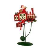 Villeroy & Boch - Christmas Toys 2017 - figurka balansująca - lokomotywa - wysokość: 34 cm