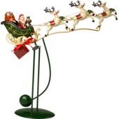 Villeroy & Boch - Christmas Toys 2017 - figurka balansująca - sanie Mikołaja - wysokość: 44 cm