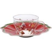 Villeroy & Boch - Toy's Delight - filiżanka do herbaty ze spodkiem - pojemność: 0,26 l