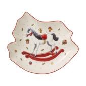 Villeroy & Boch - Toy's Delight - miska - koń na biegunach - wymiary: 24,5 x 22 x 4 cm