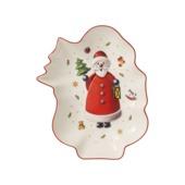 Villeroy & Boch - Toy's Delight - miska - Święty Mikołaj - wymiary: 24 x 19,5 x 4 cm