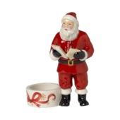 Villeroy & Boch - Christmas Light - świecznik na tealight - Święty Mikołaj - wysokość: 13 cm