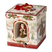Villeroy & Boch - Christmas Toys - pudełko-lampion z pozytywką - wysokość: 19 cm