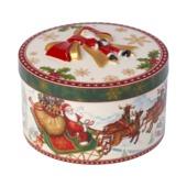 Villeroy & Boch - Christmas Toys - porcelanowe pudełko - wysokość: 10 cm