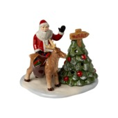 Villeroy & Boch - Christmas Toys - lampion - droga na północ - wymiary: 17,5 x 13,5 x 14 cm
