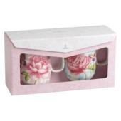 Villeroy & Boch - Rose Cottage - zestaw 2 kubków - różowy + niebieski