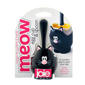 MSC - Meow - kieliszek na jajko z łyżeczką - wysokość: 6 cm