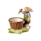 Villeroy & Boch - Bunny Family - kieliszek na jajko - zajęczy chłopiec - wymiary: 10 x 6 x 8 cm
