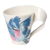 Villeroy & Boch - New Wave Caffe Lilac Breasted Roller - kubek - pojemność: 0,3 l