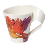 Villeroy & Boch - New Wave Caffe Red Cardinal - kubek - pojemność: 0,3 l