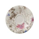 Villeroy & Boch - Mariefleur Gris Basic - spodek do filiżanki do herbaty - średnica: 16 cm